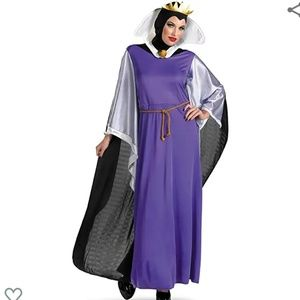 DISNEY EVIL QUEEN COSTUME Size Large☆New☆